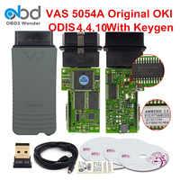 VAS5054A Original Ferramenta De Diagnóstico VAS 5054 ODIS OKI Chip Completo V5.1.3 4.4.10 5054A Wifi VAS6154 Keygen Bluetooth VAS ODIS Scanner