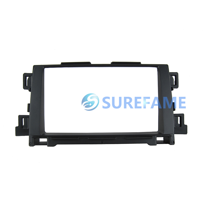 Double Din Car Fascia for Mazda CX-5 CX5 2012+ Radio Stereo GPS Panel Dash Mount Trim Install Kit Face Facia Plate