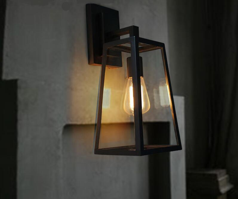 Light house loft stairs outdoor creative retro industrial corridor wall lamp bedroom bedside lamp European-style bar and FG258