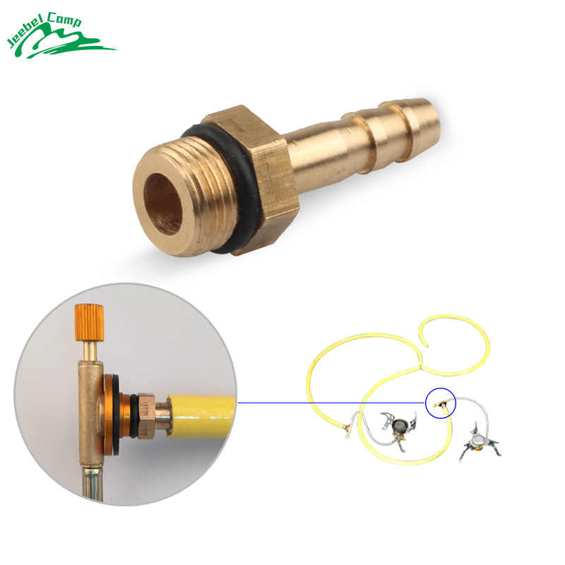 6mm Outdoor Camping Stove Burner Switching Valve accessories Stove Connect to LPG Cylinders Liquefied Cylinder Gas tank adapter