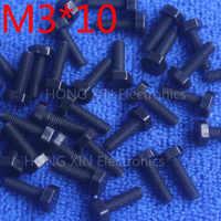 M3 * 10 10mm nero 1 pz Esagonale Viti in nylon Isolamento bulloni di Fissaggio marca conformi alla normativa RoHS PC/bordo hobby FAI DA TE vite