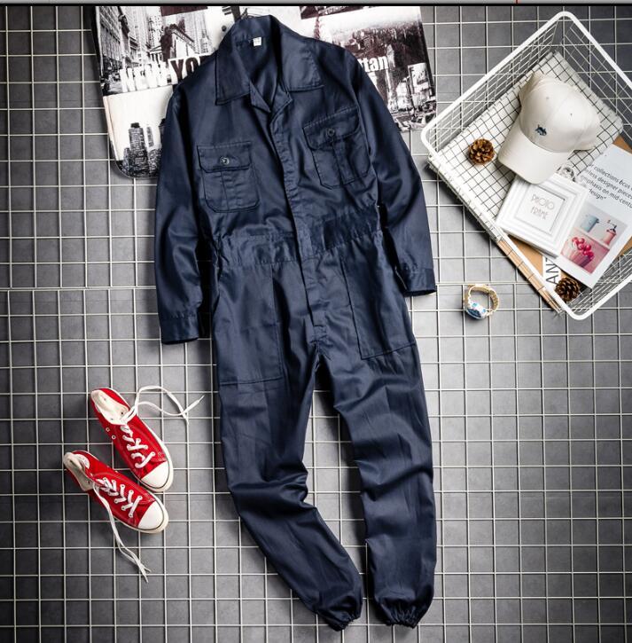 Mono 2019 Sólido Tendencia azul Pantalones bolsillo Herramientas Japoneses Suelto Los Retro Hombres Amarillo Oscuro Color Coreana Multi Ropa Tamaño Más De BfYIfr