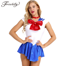 High Quality Japan Sailor Moon Cosplay Costume Moon Dress For Adult Fancy Halloween Fancy Sexy Carnival Costume Dress