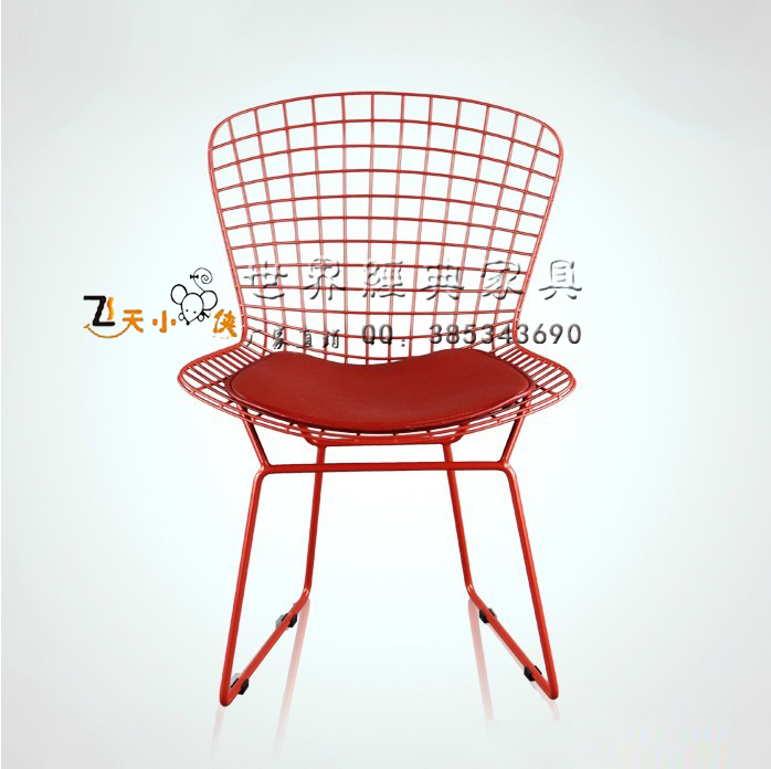 Neoclassical Fashion Simple Metal Lounge Chair Outdoor