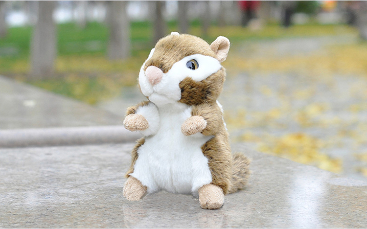 18 cm Simulation Chipmunk Plush Toys Mini Simulation Animal Stuffed Toys The Chipmunks Plush Dolls Kid Toys Free Shipping sedaris d squirrel seeks chipmunk