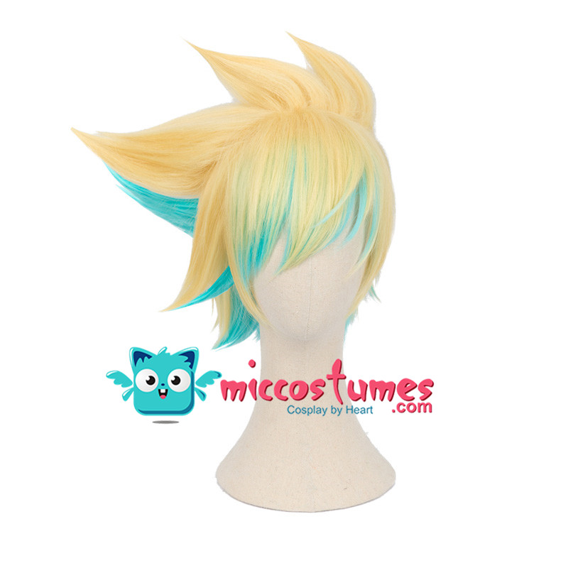 Synthetic Wig cos Ezreal Cosplay Wig