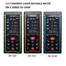 SNDWAY Laser rangefinder SW-S laser distance meter 100M 70M 50M Range Finder SW-S100 SW-S70 SW-S50