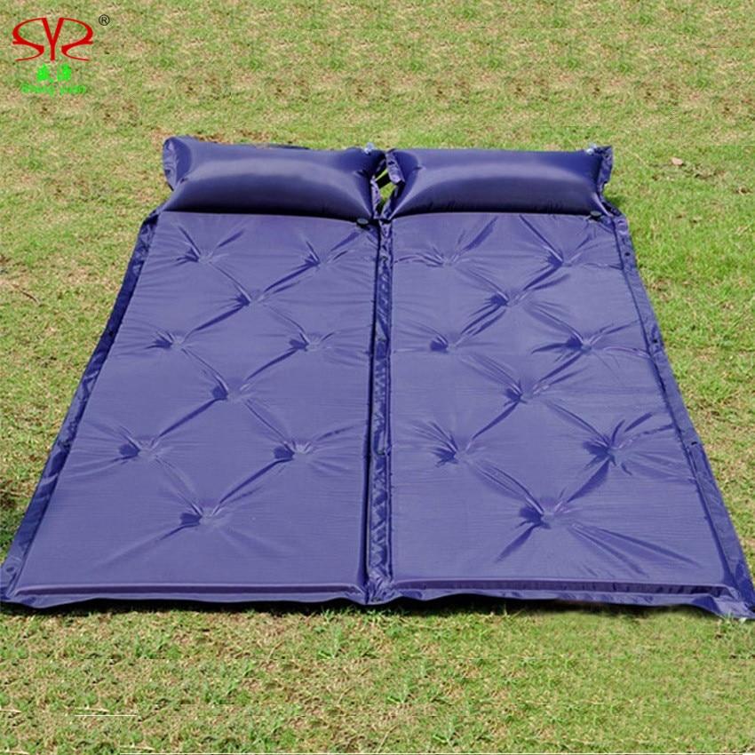 Kampierende Matte im Freien dicke 5cm automatische aufblasbare - Camping und Wandern