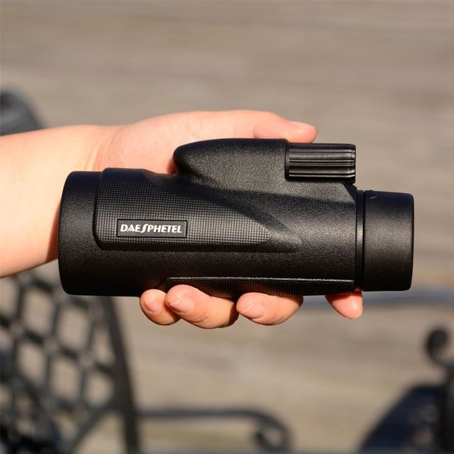 DAESPHETEL HD 12X50 monocular rofessional Hunting Telescope Zoom mobile phone photographing Binoculars With tripods