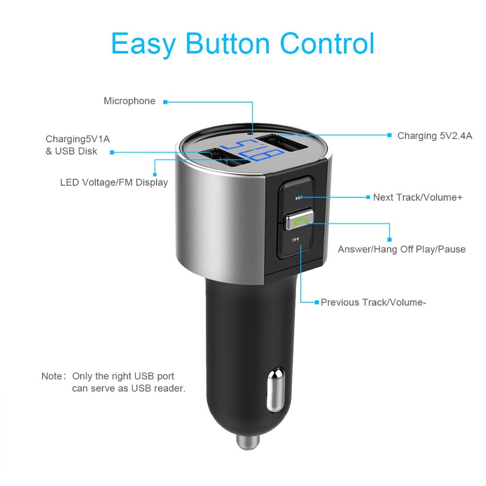 Автомобиль MP3 ойнатқышы Bluetooth - Автомобиль электроникасы - фото 5