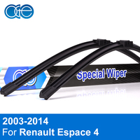 Oge Wiper Blades For Renault Espace 4 2003-2014 Windshield Rubber Car Accessories