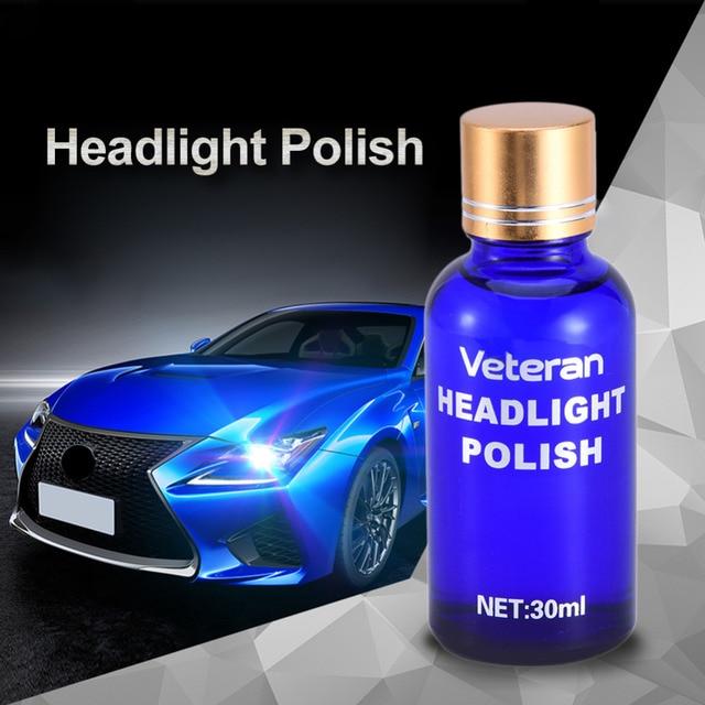 Auto Headlamp Polishing: Car Headlight Restoration Kit Auto Lamp Lenses Repair