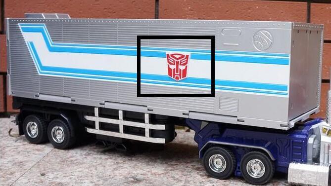 Lensple Transformation Optimus Prime MPP10 WEIJIANG remorque OP Commander surdimensionné figurine Robot jouet