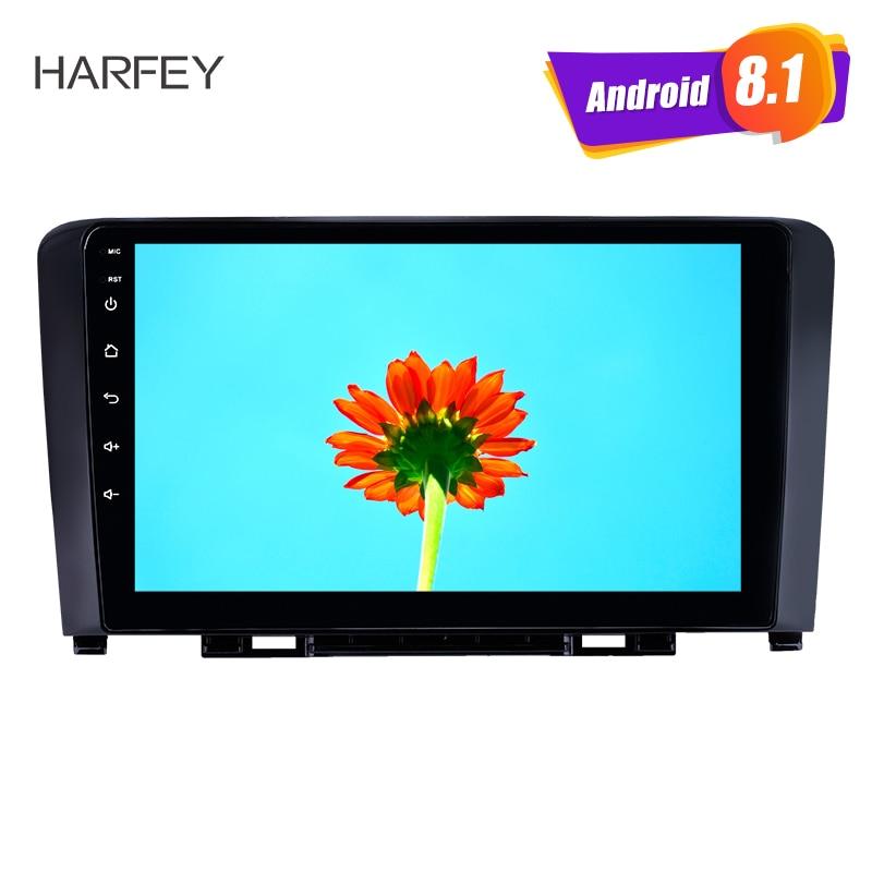 Harfey Android 8.1 GPS Navigation 9 pouces autoradio pour grande muraille Haval H6 2011-2016 HD écran tactile USB AUX support Carplay 3G