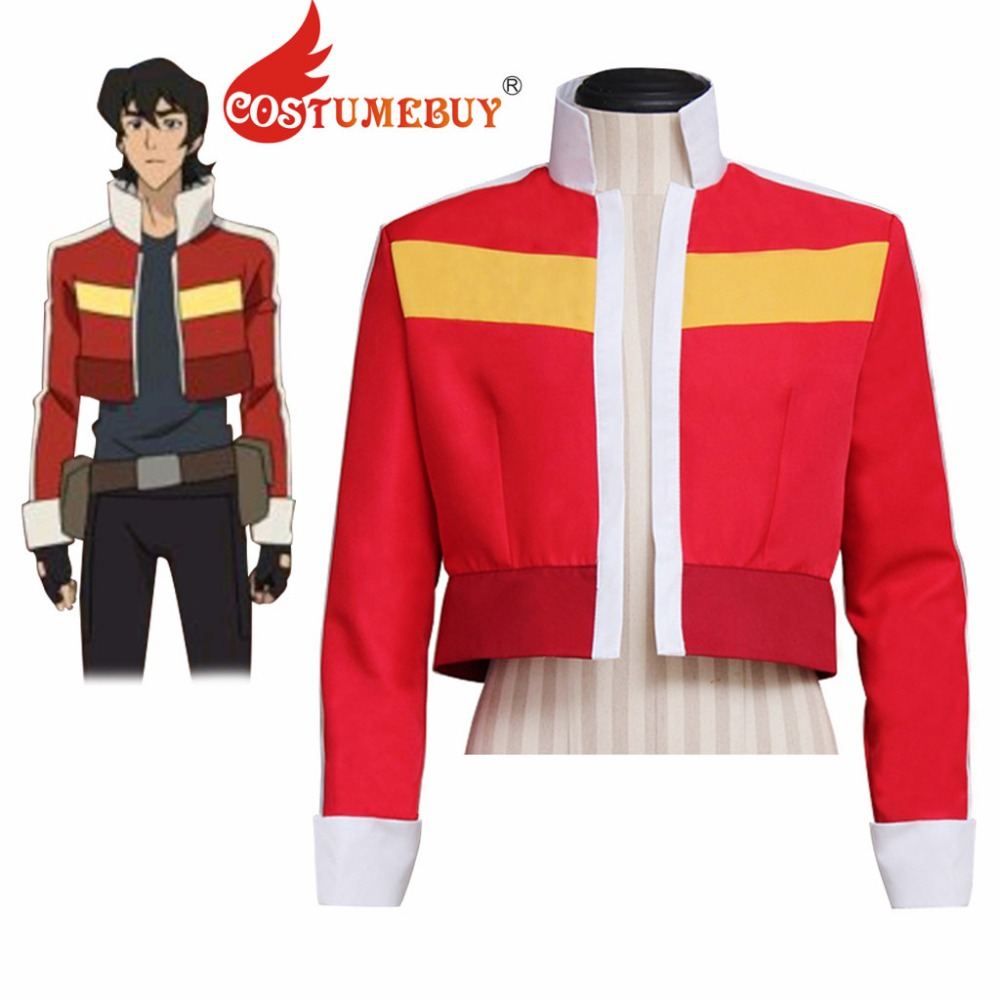 CostumeBuy Anime Voltron: Legendary Defender Keith Cosplay Jacket Adult Unisex Top Jacket Costume L320