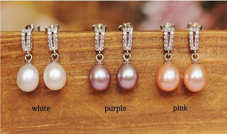 ZHBORUINI 2019 Juego de joyas de perlas Collar de perlas de agua - Joyas - foto 4