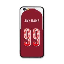 European Football Ozil BELLERIN AUBAMEYANG RAMSEY IWOBI MUSTAFI Jersey style Arsenal case for Apple iPhone 6 Phones cases