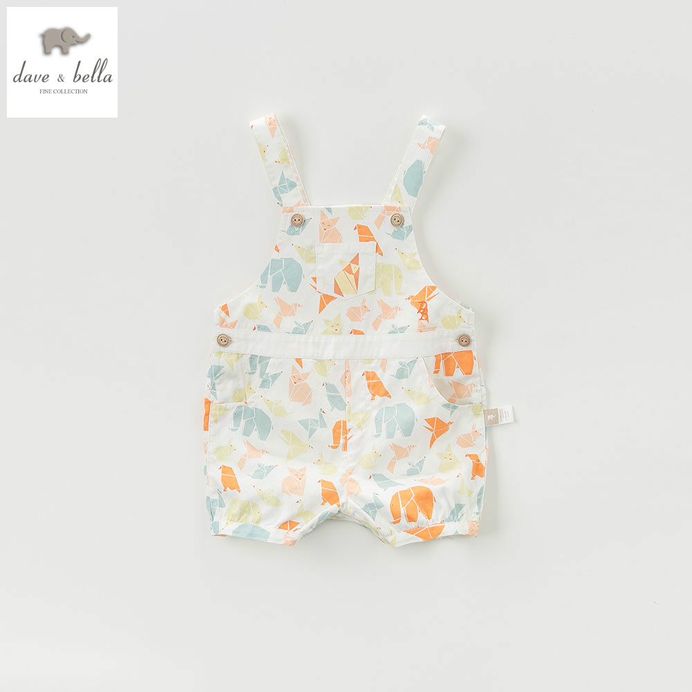 d645110c4215 DB5242 dave bella summer baby boy girl toddle overalls kids animal ...