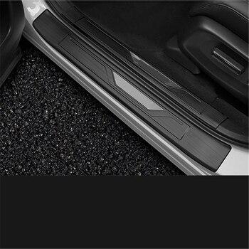 Trang trí Đổi Chân Đạp Phía Sau Tấm Bên Ngoài Phụ Kiện Thời Trang Sửa Đổi Mouldings Phụ Kiện 17 18 19 CHO Xe Honda CRV