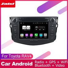 ZaiXi For Toyota RAV4 RAV 4 2006~2012 Car Android Multimedia System 2 DIN Auto DVD Player GPS Navi Navigation Radio Audio WiFi octa core 1024 600 hd screen 2 din android 8 0 car dvd for toyota rav 4 rav4 audio video stereo gps navigation radio rds 4g wifi