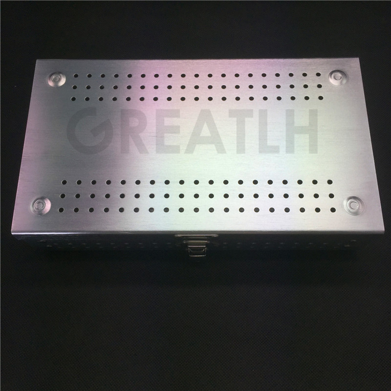 Aluminium Alloy Sterilization Tray Sterilization Case Surgical Instruments High Quality new aluminium alloy sterilization tray sterilization case surgical instruments
