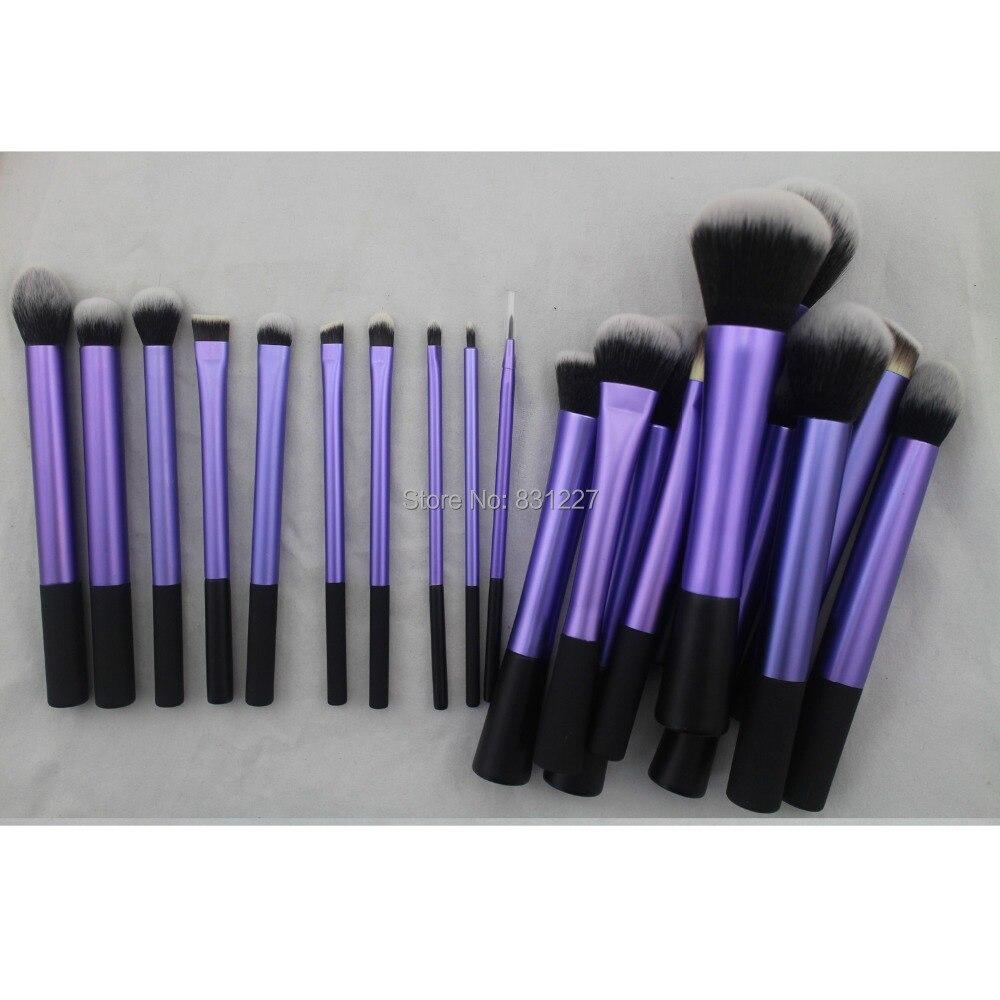 Седона удивительные 20 шт. мягкие волосы плотные Фиолетовый макияж кисти полный набор профессиональных высокое качество Косметика Кисти дл...