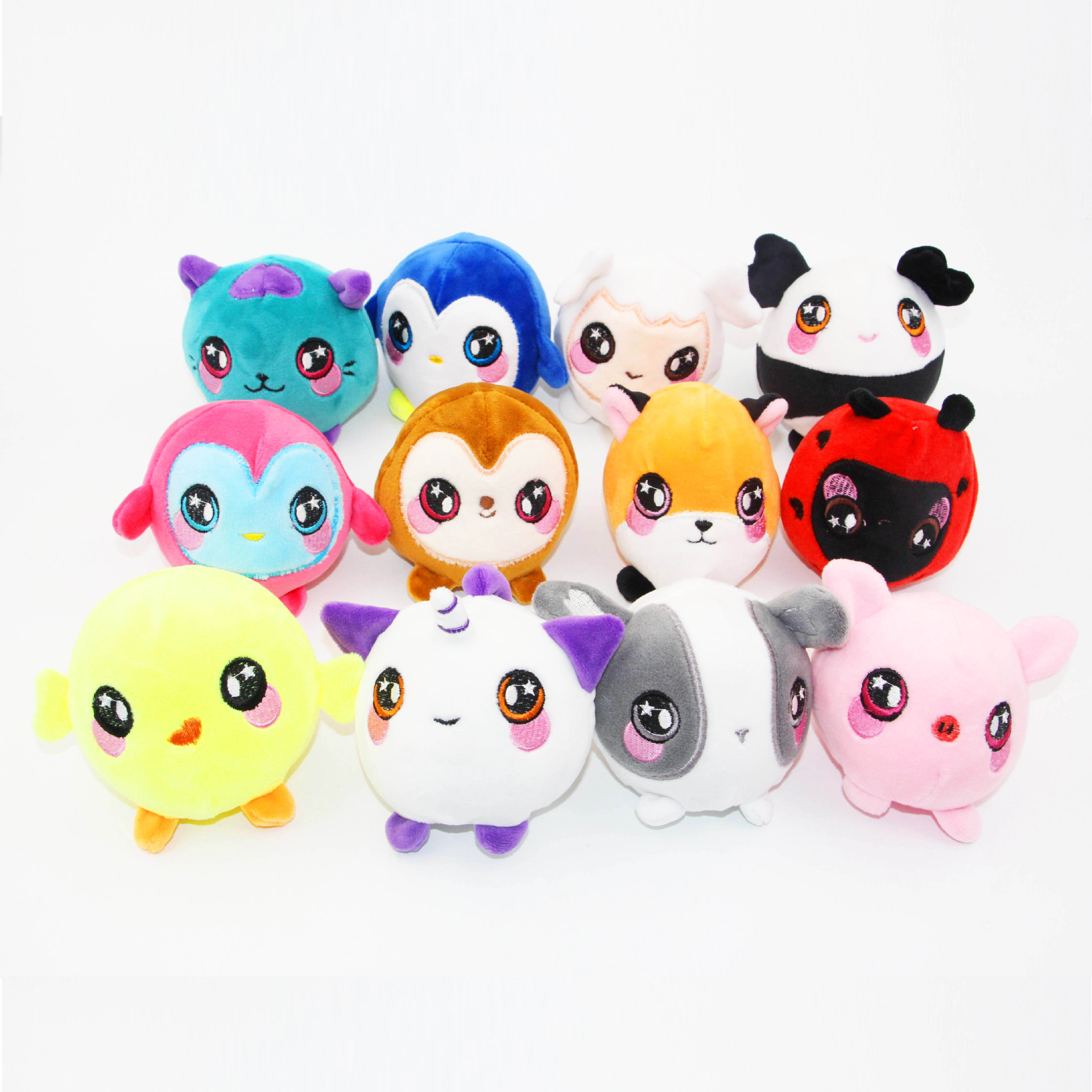 Funny Sweet Plush Rebound Toy Slow Rising Animal Toys Squeezamals Soft Plush cute Dolls Stress Relief Gift For Children diamond huge pink blue giant slow rising soft toy gift collection squishying 21 17cm antistress ball relief funny gift toys
