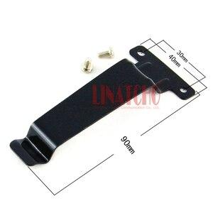 Image 1 - 10 adet demir kemer klipsi walkie talkie için el radyosu TK 2107 TK 3107 TK 480 TK 280 TK 380 BC20 TK 278 TK 378 TK 388 TK 278G