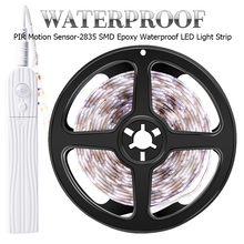 5V Battery Led Strip Light Waterproof Motion Sensor LED Night Flexible Lamp Tape Ribbon TV Background Lighting 2835