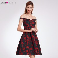 2017 New Fashion Retro Off Shoulder Fit Cocktail Ever Pretty EP05947 Dresses Women S Flare Party