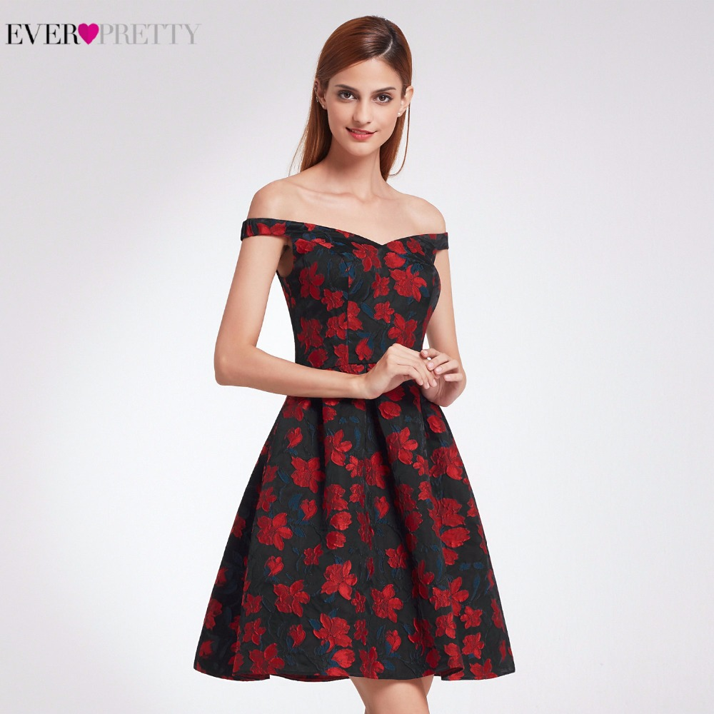 2017 New Fashion Retro Off Shoulder Fit Cocktail Ever Pretty EP05947 ...