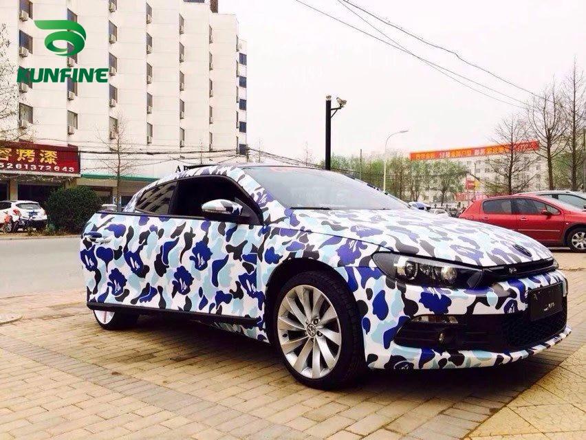 Car Styling Wrap Graffiti camo Car Vinyl film Body Sticker Car Wrap With Air Free Bubble For Vehiche 1.52*20 M / Roll