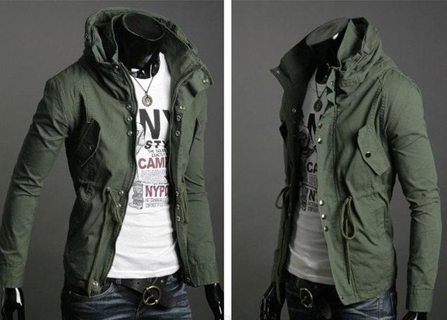 Free Shipping New Men's Jacket LiLing Cultivate One's Morality Men's Jacket Hot Leisure Coat Color:3 colors Size:M-L-XL-XXL