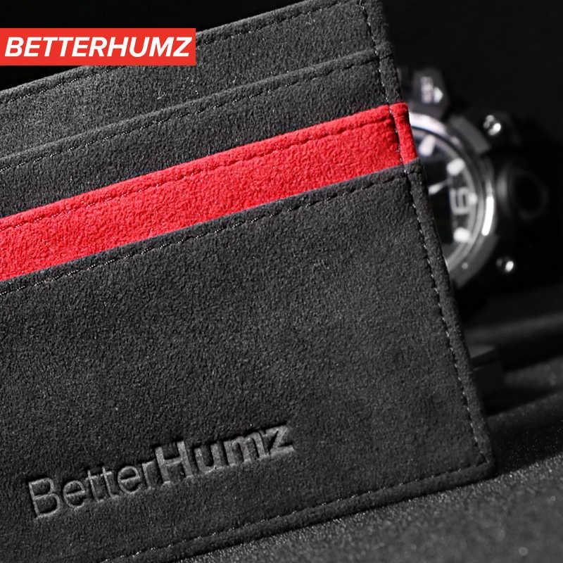 Alcantara Bank, кредитный ID держатель для карт, посылка, кошелек для монет, мужской кошелек, тонкий чехол для BMW E46 E90 E60 E39 E36 F30 F10 F20 G30 M