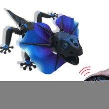 Детская игрушка электрический RC пульт дистанционного управления ящерица инновационный робот инфракрасная искусственная ящерица реалистичный ползать смешной ловкий Игрушки для мальчиков