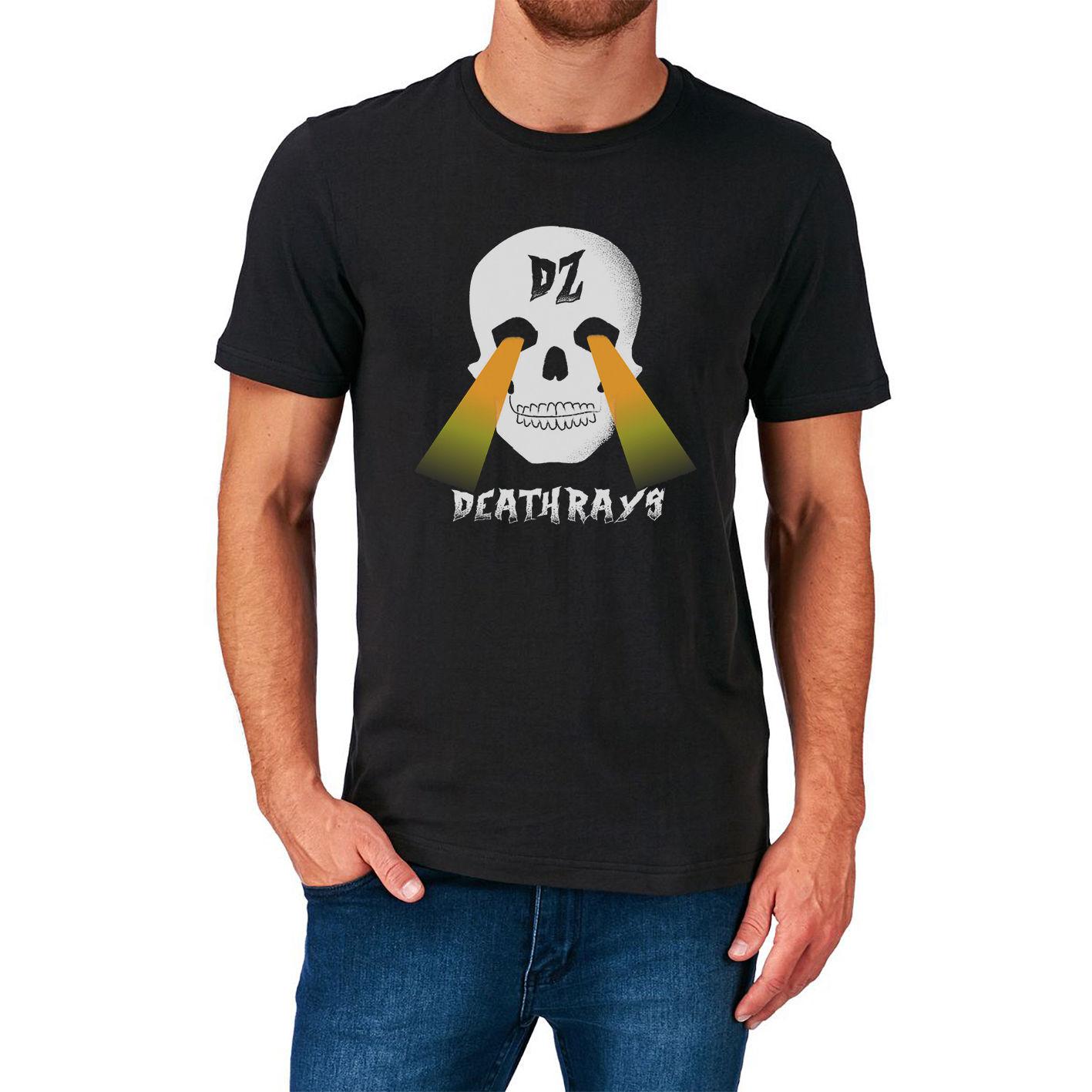 Design t shirt online australia - 2017 Gildan Fashion Dz Deathraysdance Punk Heavy Metal Hard Rock Music Australia Design T Shirt Tops