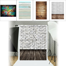 Colorful Brick Texture  Photography Background Studio Video Photo Backdrop Cloth Phone Photography Props For Food