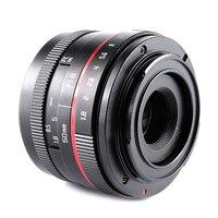 50mm Camera Lens F1.8 Large Aperture Auto Focus Lens for Sony E Mount A6500 A7 II/M4/3 GH4 GH5 / Fuji X T2 /Canon M10 Cameras