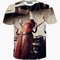 Funny design Kitchen Big Cockroach printing tee shirts 3d t shirt Men new t-shirt short sleeve casual tshirt tops T1508