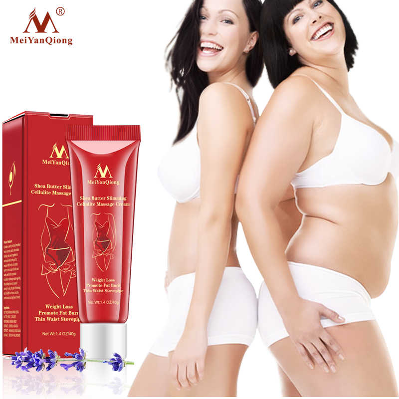 d6b3d8d36d Shea Butter Slimming Cellulite Massage Cream Body Care Weight Loss Promote  Fat Burn Thin Waist Stovepipe