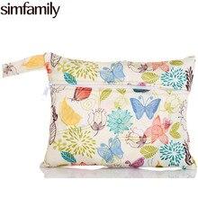Коляска, макияж, менструального [simfamily] мокрый см, кормящих многоразовые колодки водонепроницаемый сумка