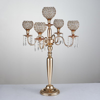 80cm Tall Gold Wedding Candelabra candle holder Table Centerpiece