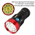 20000 lumens light King 10T6 LED flashlamp 10 x  XM-L T6 LED Flashlight Torch Lamp Light For Hunting Camping