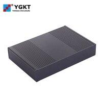 Promo YGK-028 * 240*45*160mm (anchura x altura x longitud) venta de fábrica directamente PCB dispositivo electrónico aplicación aluminio extrusión aleación carcasa/funda