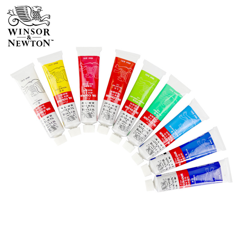 45ml/tube Winsor & Newton Fine Oil Color  Colors Oil Paints Drawing Pigments Art Supplies Tool Set AOA039