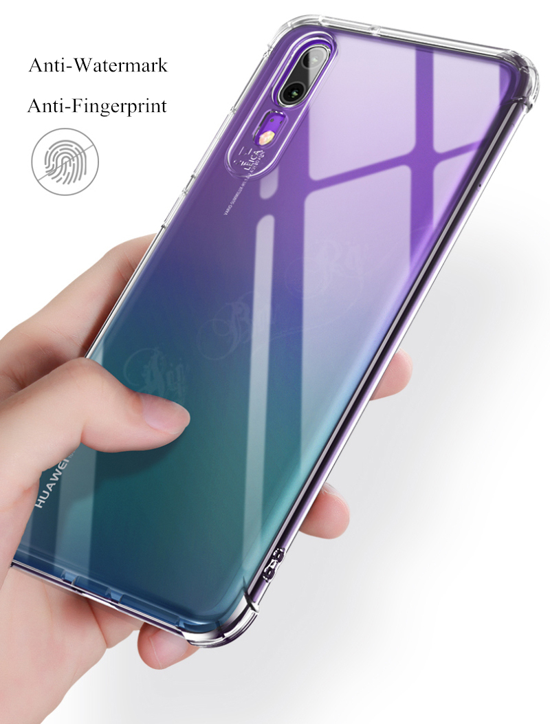 Clear Anti-knock 6D Stereo Sound Conversion Airbag Case For HuaWei Mate 20  Lite P20 P30 Pro Soft TPU Protective Back Cases