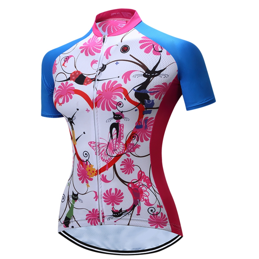 3fd4247dd1 2016 TELEYI Mulheres Bicicleta camisa de Ciclismo Roupas Respirável Roupas  Bicicleta Camisa de Ciclismo Equipe Outdoor Sportswear MTB Mailot
