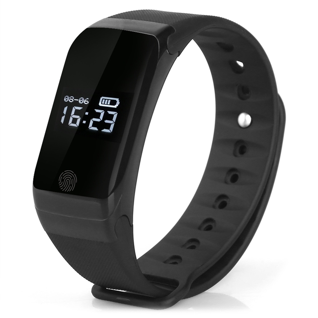 2017 New X7 Bluetooth 4.0 Sports Smartband Heart Rate Tracker Pedometer Pressure Monitor Call Reminder Fitness Bracelet Band