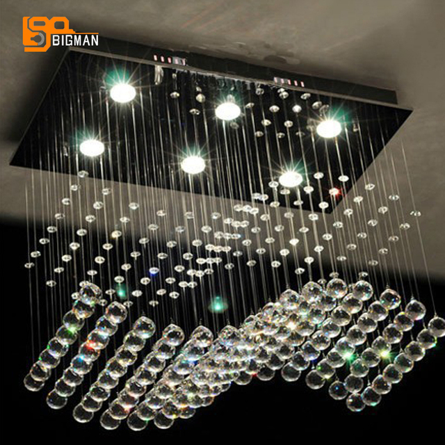 Hot sales inbouw wave kristallen kroonluchter kristal home ...