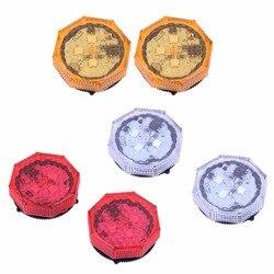 2 stücke Sicher Auto Tür Lichter drahtlose Rote LED Warnung Lampe Signal Lampe Anti Kollision Magnetische Blinkende Auto Strobe Verkehrs licht